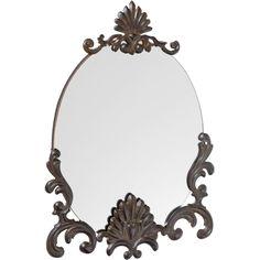 Spegel Felicia rund