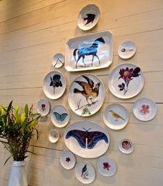 Astier de Villatte ceramics with John Derian decoupage