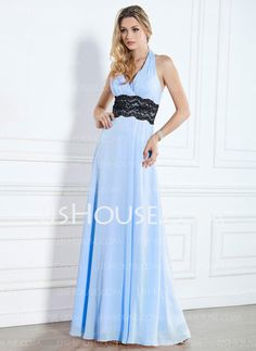 Love this too!!!! Bridesmaid Dresses - $123.99 - A-Line/Princess Halter Floor-Length Chiffon  Charmeuse Bridesmaid Dresses With Lace  Sash (007013087) http://jjshouse.com/A-line-Princess-Halter-Floor-length-Chiffon-Charmeuse-Bridesmaid-Dresses-With-Lace-Sash-007013087-g13087