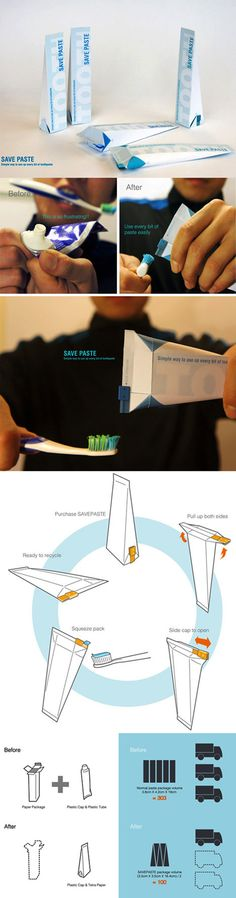 paste tube packaging