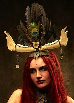 Soothsayer  headress by VincentCantillon on Etsy, $250.00