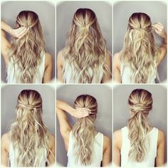Step by step hairstyles for long hair Page 18 of 29 Hairstyle Monkey