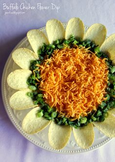 Jo and Sue: Buffalo Chicken Flower Dip