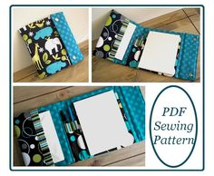 stationary portfolio and case pdf sewing pattern by susie d designs #sewandsell #sewing