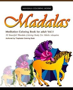 Mandala Coloring Book 50 Beautiful Books For Adults Relaxation Meditation