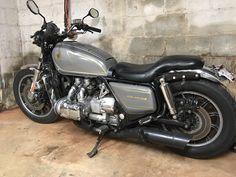 Cafe Racer Honda, Cafe Bike, Cafe Racers, Goldwing Bobber, Old Motorcycles, Chopper Bike, Honda Shadow, Mopeds, Classic Bikes