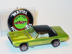 Hot Wheels Redline US CUSTOM T BIRD -HTF Antifreeze Spectraflame, N/M Old Vintage Cars, Vintage Hot Wheels, Vintage Toys, 1970s Toys, Old School Toys, Matchbox Cars, Hot Wheels Cars, Childhood Toys, Antique Toys