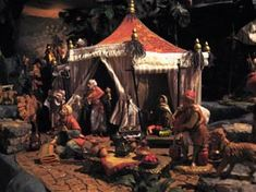 pictures of Fontanini nativity displays | Holly Wreath is proud to have the largest display of Fontanini in SE ...