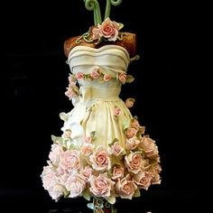 Wow. The most beautiful cake I've ever seen