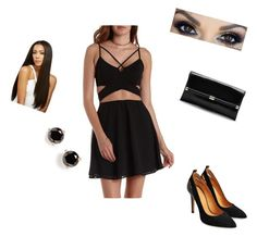 """""""To the club"""" by shivani-and-shivane ❤ liked on Polyvore featuring beauty, Charlotte Russe, Diane Von Furstenberg and Kate Spade"""