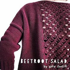Beetroot Salad by Julie Tootill ~ FREE pattern