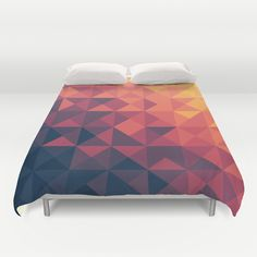 """Infinity Twilight"" Duvet Cover by Budi Satria Kwan on Society6."