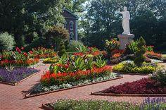 St. Louis, MO. April 2013.  Missouri Botanic Garden