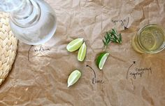 Rosemary Lime Drink