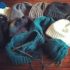 Can't stop to #knit #knitting #stricken #Mützen #Haube Dory, Hoods, Instagram Posts, Fashion, Breien, Moda, Cowls, Cooker Hoods, Food