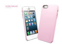 Ayuda a proteger el iPhone 5 de caídas y golpes con la carcasa Ultra Thin Air para iPhone 5. Su diseño elegante y delgado mantiene el teléfono móvil protegido y además a la moda. Colores disponibles: Rosado.