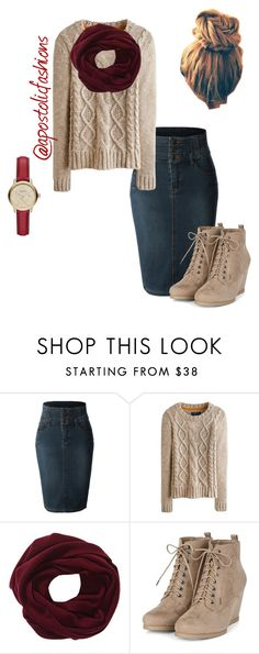 """Apostolic Fashions #938"" by apostolicfashions on Polyvore featuring LE3NO, Joules and Burberry"