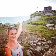 I think I rocked the selfie stick today at the Tulum Ruins #travel #tulum #mexico #mayanruins #caribbean #wanderlust #traveller #travelgram #travelmore #traveltheworld #adventure #solotravel #solofemaletraveler #instatravel #beautifuldestinations #selfiestick #travelling #iamtb #culture #livedreamwander