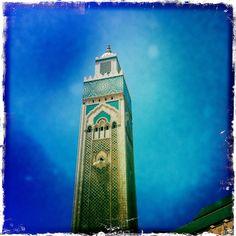 © Pedro Vega 2012. Casablanca. Marruecos. Torre de la Mezquita Hassan II