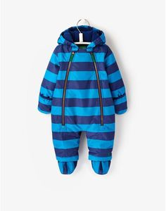BABY CHARLIE Baby Boys Striped Waterproof Snowsuit Joules Uk, Snow Suit, Up Styles, Baby Boy Outfits, Baby Gifts, Dress Up, Baby Style, Sweaters, Gift List
