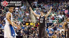 Duke choking during the 2012 NCAA tournament against Lehigh