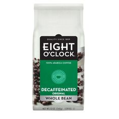 """""""It's eight and it is time to reach for the tasty delightful Eight O/Clock coffees"""""""