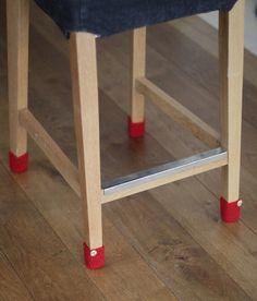 8 silla de calcetines.  Ya no tiene que preocuparse acerca de pies de los muebles rayados el piso de su casa ya no tienen que sacar cuidadosamente la silla, no sólo lograr el hermoso, también puede proteger el piso no ser usado. Calcetines de la silla es no sólo razonable, sino abstracta detalle nuestra casa. Esta silla calcetines pueden ser para las patas de los taburetes, patas de mesas y otros muebles con patas. Es apto para patas redondas y cuadradas.  Es buena idea colorido, detalle o…