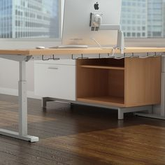 sevens utility beam serves as a simple support for intuitive cable management brackets intuitive company office photo