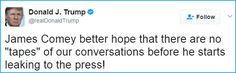 An Epic Presidency: Interpreting Trump's Tapes Tweet