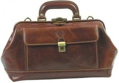 Leather doctor's bag