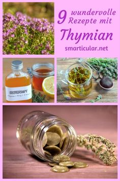 9 applications for the versatile thyme – more than a culinary herb - DIY Antiseptic & Disinfectant Healing Herbs, Natural Healing, Home Remedies, Natural Remedies, Handmade Cosmetics, Beauty Recipe, Nature Crafts, Alternative Medicine, Health And Nutrition