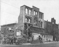 Die Reste der Sternapotheke an der Hildesheimer Straße, 1945