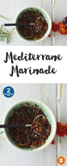 Mediterrane Marinade, Grillen, Barbecue | Weight Watchers
