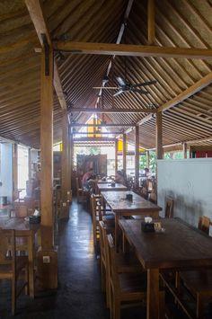 A restaurant in Yogyakarta, Indonesia