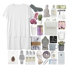 """""""Castle in the air"""" by jj130408 ❤ liked on Polyvore featuring Universal Lighting and Decor, Ødd., Paddywax, iittala, Le Labo, Casio, CLEAN, Laura Mercier, Topshop and Essie"""