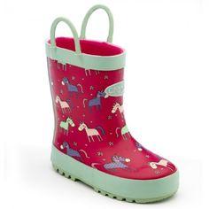 Chipmunks Angelica Pink Wellingtons