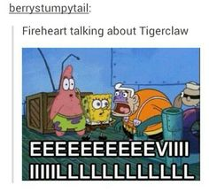 Warrior Cats Text Messages - Talking about Tigerclaw - Wattpad