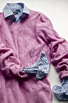 cashmere and gingham