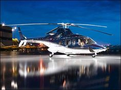 What good is a dream without a private helicopter?