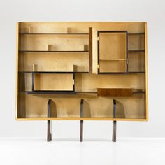 184: Gio Ponti / bookcase < Important Design, 14 December 2010 < Auctions | Wright