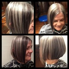 blending gray hair with lowlights car tuning blending gray hair with ...