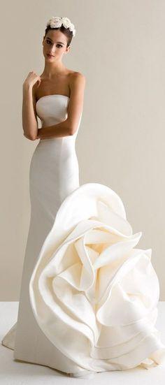 Dazzling Wedding Dresses from Antonio Riva Collection 2015 Bridal Gown / Wedding Gown Antonio Riva Designer Wedding Dresses, Bridal Dresses, Wedding Attire, Wedding Gowns, Wedding Pics, Wedding Bride, Wedding Hair, Lace Wedding, Wedding Ideas