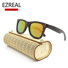 ccea81c6f EZREAL 2016 HOT New Men/Women Handmade Bamboo Sunglasses men polarized  brand designer Eyewear Eyeglasses