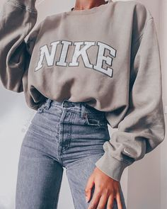 Casual School Outfits, Trendy Summer Outfits, Winter Fashion Outfits, Retro Outfits, Cute Casual Outfits, Simple Outfits, Look Fashion, Stylish Outfits, Lazy Outfits