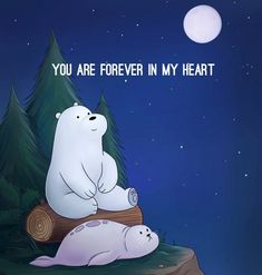 I am happy and glad when Ice Bear's happy and glad, too. I will never forget the day I first watched u and your brothers, Ice Bear! We Bare Bears Wallpapers, Panda Wallpapers, Cute Cartoon Wallpapers, Animes Wallpapers, Cute Panda Wallpaper, Bear Wallpaper, Disney Wallpaper, Ice Bear We Bare Bears, We Bear