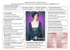 comparison of lady macbeth and miss havisham essay Sample papers articles faqs and compare the way that lady macbeth, the protagonist of the laboratory, havisham and one poem of your choice are presented miss havisham and the woman in the battered doll are portrayed as either physically or physiologically damaged causing the.