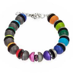 Polaris Ball Bracelet, Multicolor, Coeur De Lion Jewelry $120 Sale $96