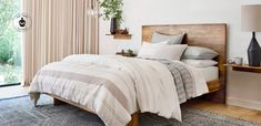 Our Hemp & Cotton bedding blends earth-friendly hemp with organic cotton and plant-based dyes to create all natural bedding.