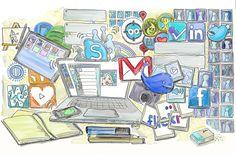 Lograr un comunidad de la biblioteca en las redes sociales es parte del éxito de una estrategia digital.