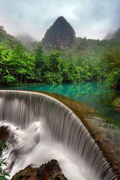 Libo, Guizhou, China.